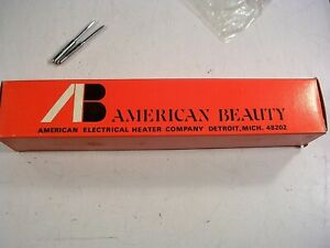 American Beauty Model 3128 s3 220w Soldering Iron New With 2 Tips