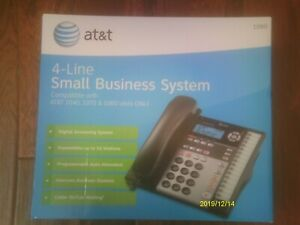 At t 1040 4 line Small Business Phone System Compatible With 1070 1080
