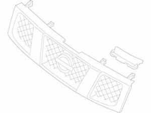 For 2012 Nissan Titan Grille Assembly Front 68787wc