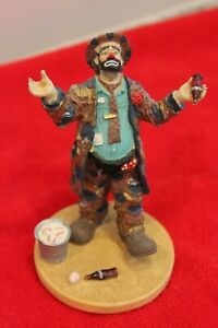 1994 Emmett Kelly Hobo Clown Coca Cola Limited Edition Refreshes You Best