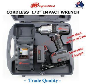 Ingersoll Rand 1 2 Cordless Impact Wrench Trade Quality Tools Gun High Torque