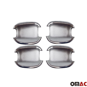 Fits Chevrolet Aveo 2006 2011 Chrome Side Door Inner Handle Cover Guard 4 Pcs