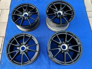 2010 2011 Porsche 911 Gt3 Oem Wheels 997 997 2 19 Rims Genuine Factory Black