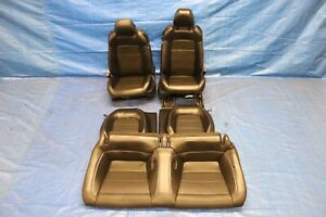 2019 Ford Mustang Gt 5 0 Coyote V8 Oem Leather Front Rear Seats 1196