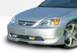 G5 Series Front Lip For 2001 2003 Honda Civic 2dr 4dr 890516