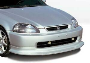 Touring Style Front Lip For 1999 2000 Honda Civic 2dr 4dr Hb 890387
