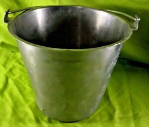 Adcraft Stainless Steel 13 Quart Bucket Pail Ps 13 Food Processing Equipment