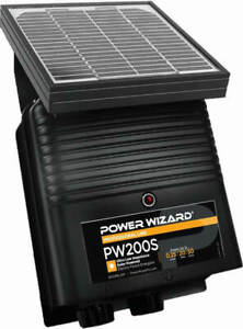 Pw200s Solar Power Wizard Fence Energizer 3 Year Manufacturer Warranty