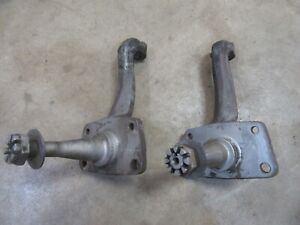 1954 1956 Ford Fairlane Front Stock Steering Spindle Pair Set Hot Rod Rat Rod