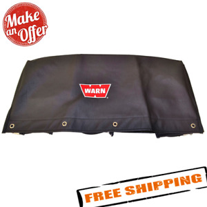 Warn 15639 Nylon Backed Vinyl Winch Cover For 16 5ti M15000 M12000