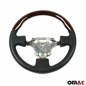 Genuine Walnut Black Leather Steering Wheel For Ford Transit Connect 2010 2013