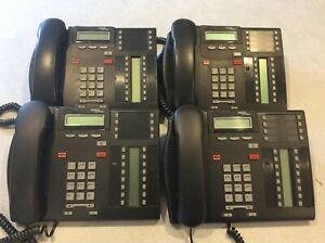 Lot Of 4 Used Nortel Norstar T7316 Office Business Phones