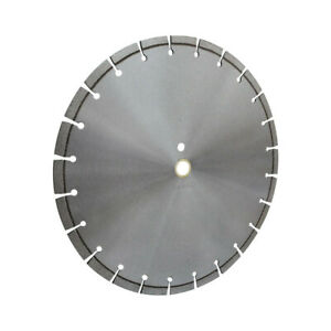 14 Inch Laser Welded Diamond Saw Blade Wet Or Dry Use 20mm Arbor