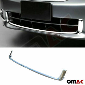 Fits Honda Accord 2008 2011 Chrome Front Bumper Grill Frame Trim Cover 2 Pcs