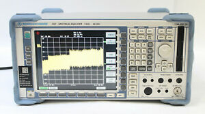 Rohde Schwarz Fsp 38 Spectrum Analyzer 9 Khz To 40 Ghz 1164 4391 38