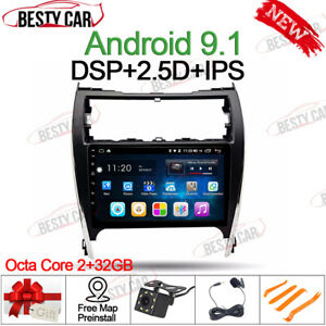 10 1 Android Car Radio Gps Stereo For Toyota Camry 2012 2014 Usa Eu Version Bt