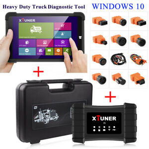 Heavy Duty Truck Wireless Diagnostic Scan Tool For Windows Tablet Xtuner T1