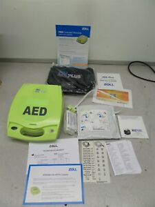 Zoll Aed Plus Medical Automated External Heart Starter No Batteries