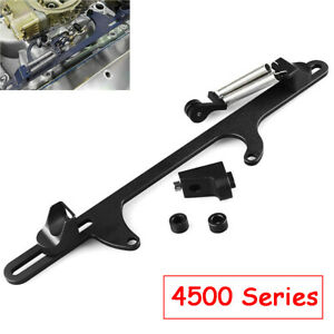 4500series Black For Holley Dominator Carburetor Aluminum Throttle Cable Bracket