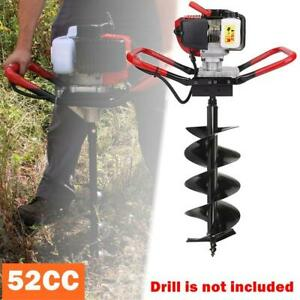 52cc 2 stroke Gasoline One Man Earth Ground Auger Borer Post Hole Digger Machine