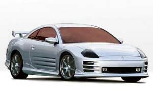 W type 4pc Complete Kit For 2000 2002 Mitsubishi Eclipse 2dr 890453