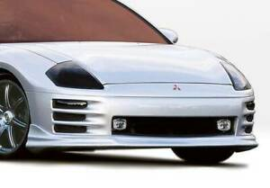 W type Front Lip For 2000 2002 Mitsubishi Eclipse 2dr 890450
