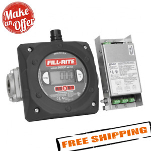 Fill rite 900cdp 6 40 Gpm 1 inch Npt Thread Digital Pulse Output Meter