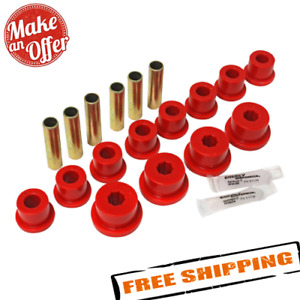 Energy 1 2102r Red Front Leaf Spring Bushings For 1985 1995 Suzuki Samurai