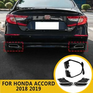 Exhaust Muffler Tail Pipe Tip Tailpipe Modified Upgrade Fit Honda Accord 2018 20