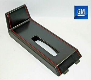 86 88 Monte Carlo Ss Black And Red Center Console Shift Trim Panel New Gm 221