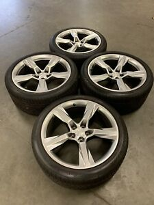 20 Chevy Camaro Ss 2019 Oem Staggered Wheels Rims Tires 2015 2016 2017 2018 New