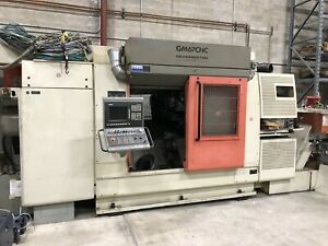Gildemeister Gm67 Cnc Lathe Machine 15 axis 3 spindle Live Tooling Siemens