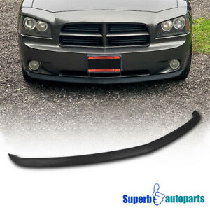 For 2005 2010 Dodge Charger Daytona Abs Front Bumper Lip Spoiler
