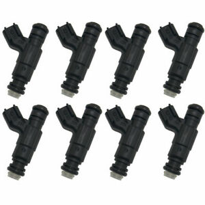 Set 8 630cc 60lb Bosch Fuel Injectors Fits Dodge Ram Chrysler Hemi 5 7 6 1 Srt8