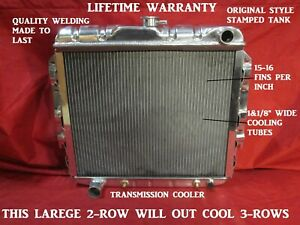 22 Radiator 1966 1969 Charger Cornet Superbee Road Runner Rt Mopar B body
