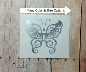 Tribal Butterfly Vinyl Car Decal Sticker For Hydroflask Yeti Tumbler Bottle