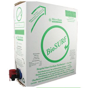 Biosurf Surface Disinfectant 5 Liter Refill Case 1 32 Gallon Fda Approved