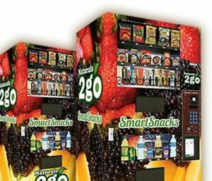 Brand New Naturals2go Combo Vending Machine Snacks And Drinks Airvend Included