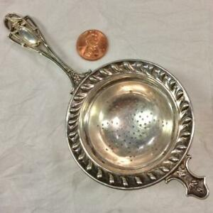 Frank Whiting Sterling Silver Tea Strainer Approximately 6 No Mono