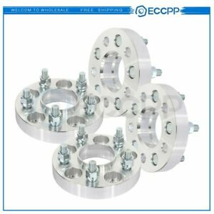 Eccpp 4 Pcs 1 5x110 12x1 25 Studs Wheel Spacers For Jeep Cherokee Chrysler 200