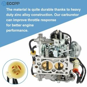 New Style Carburetor For Toy 505 Toyota Pickup 22r 1981 1987 W Green Round Plug