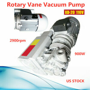 110v Xd 20 Rotary Vane Vacuum Pumps Suction Pump Vacuum Machine Universial Motor