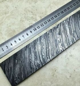 Damascus Steel Billet Knife Making 30cm Long 5cm Wider And 5mm Thick