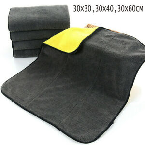 1pc Car Wash Microfiber Towel Auto Cleaning Drying Cloth Super Absorbent 3 Size