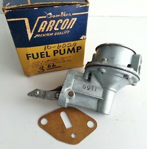1955 56 Dodge Plymouth Fuel Pump 4159 Nos Made In Usa Varcon Rat Rod