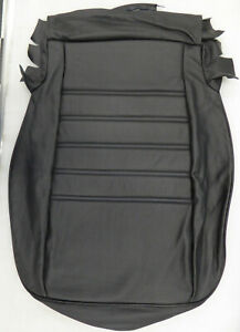 Porsche 911 912 930 New Seat Upholstery Black Leather Cushion Only 1985 1995