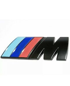 Bmw Motorsport Badge Emblem Black M Sport Bmw M Performance M Power M Tech