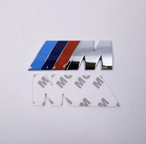 Bmw Motorsport Badge Emblem Chrome M Sport Bmw M Performance M Power M Tech