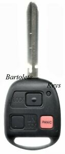 Replacement Transponder Remote Keyless Entry Key Fob For Toyota Land F J Cruiser
