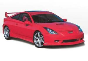 W type Right Side Skirt For 2000 2004 Toyota Celica 2dr 890467
